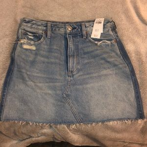 Abercrombie and Fitch, denim two tone skirt